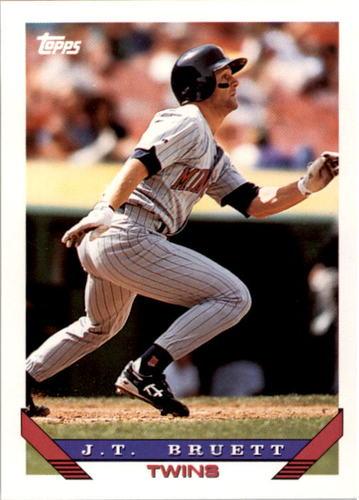 Photo of 1993 Topps #309 J.T. Bruett