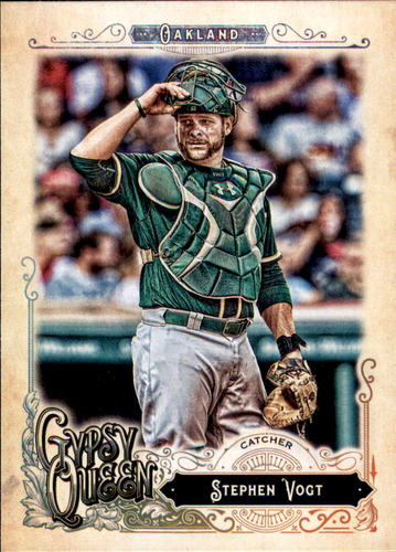 Photo of 2017 Topps Gypsy Queen #169 Stephen Vogt
