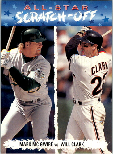 Photo of 1993 Fun Pack All-Stars #AS3 M.McGwire/W.Clark
