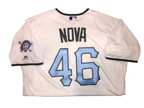 Photo of Ivan Nova Game-Used Father's Day Weekend Jersey - Worn on 6/17 & 6/18
