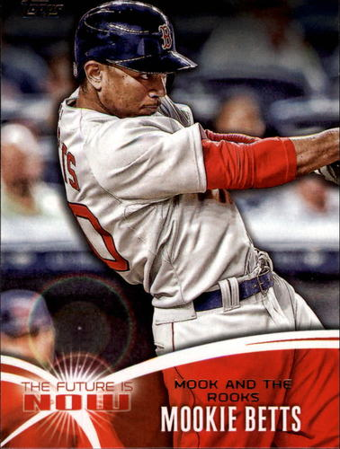 Photo of 2014 Topps The Future is Now #FNMB2 Mookie Betts  -- Red Sox post-season