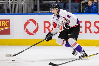 Cody Glass 2017 Sherwin-Williams CHL/NHL Top Prospects Game Worn Helmet