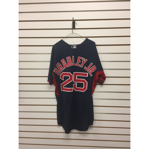 Photo of Jackie Bradley Jr Team-Issued Road Batting Practice Jersey