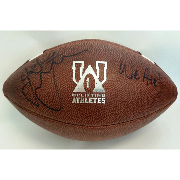 Autographed 2018 Penn State Blue-White Game-Used Football To Benefit Uplifting Athletes (C)