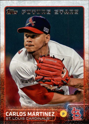 Photo of 2015 Topps #527 Carlos Martinez FS