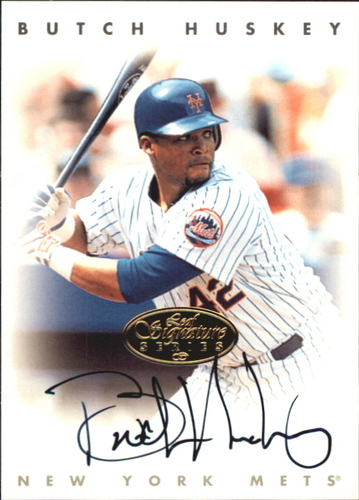 Photo of 1996 Leaf Signature Autographs Gold #113 Butch Huskey