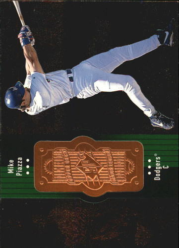 Photo of 1998 SPx Finite #90 Mike Piazza