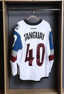 Alex Tanguay Colorado Avalanche Game Worn Stadium Series Jersey
