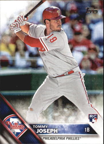 Photo of 2016 Topps Update #US39 Tommy Joseph RC