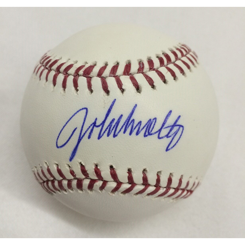 Photo of John Smoltz Autographed Baseball