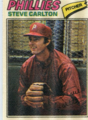 Photo of 1977 Topps Cloth Stickers #11 Steve Carlton