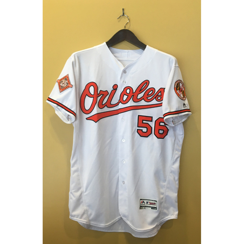 Photo of Darren O'Day - 2017 Opening Day Jersey: Game-Used