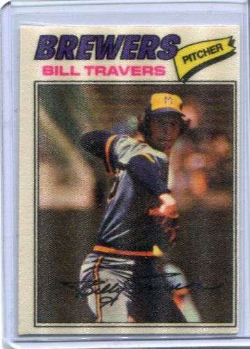 Photo of 1977 Topps Cloth Stickers #49 Bill Travers