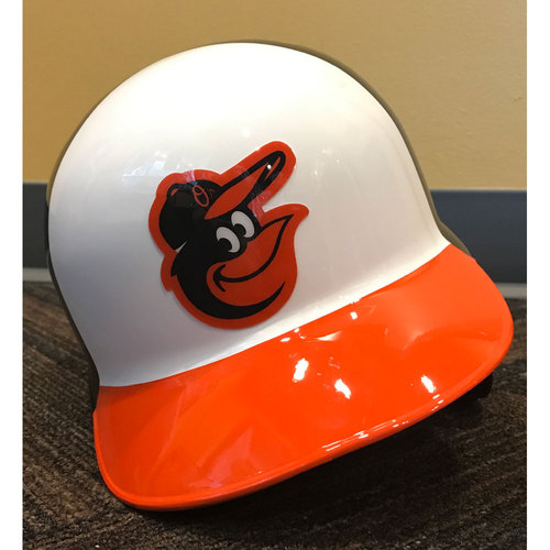 Photo of Mark Trumbo - 2017 Spring Training Helmet: Game-Used