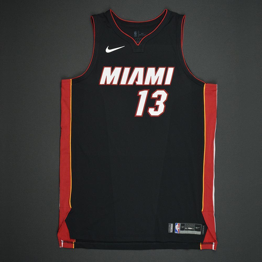 Bam Adebayo - Miami Heat - 2017 NBA Draft - Autographed Jersey