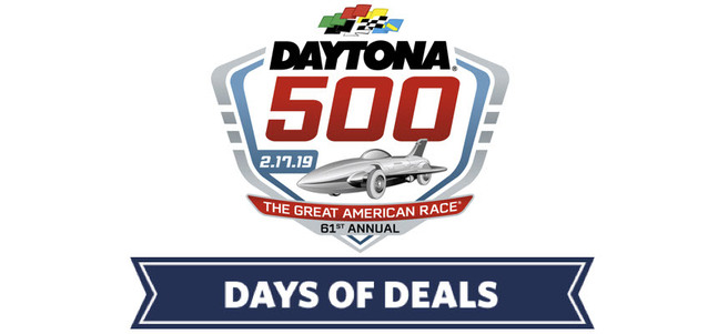 DAYTONA 500® + GATORADE VICTORY LANE ACCESS (TRIOVAL CLUB TICKETS) - PACKAGE 1 of 5