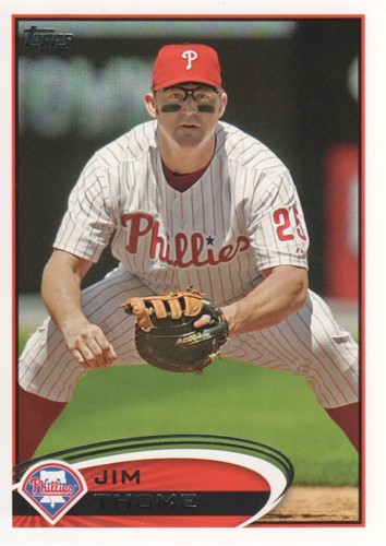 Photo of 2012 Topps #371 Jim Thome