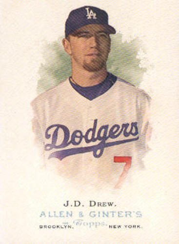 Photo of 2006 Topps Allen and Ginter #39 J.D. Drew