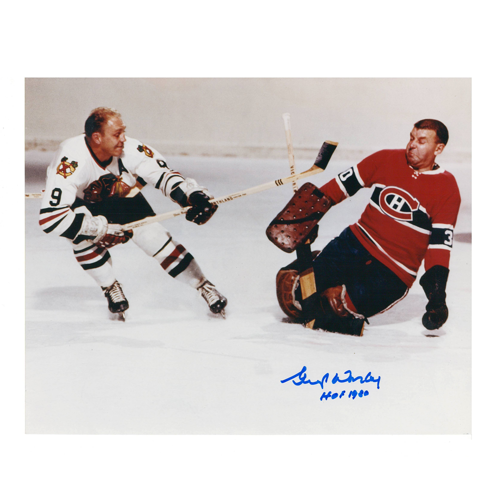 GUMP WORSLEY Signed Montreal Canadiens 8 X 10 Photo - 70003