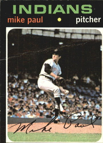 Photo of 1971 Topps #454 Mike Paul