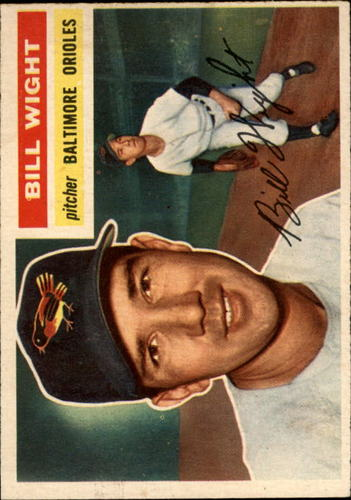 Photo of 1956 Topps #286 Bill Wight