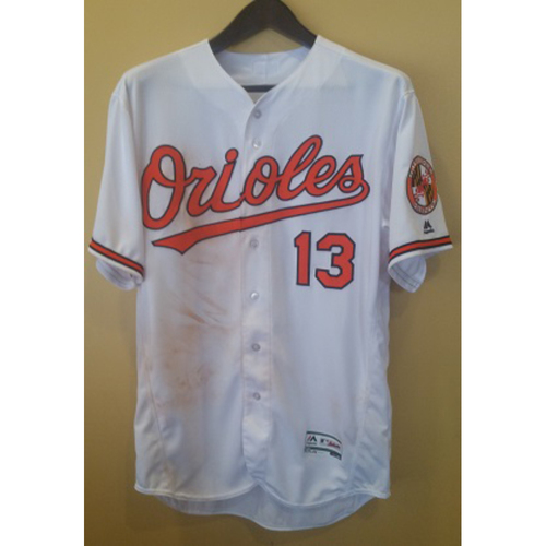 Photo of Manny Machado - Home Run Jersey: Game-Used