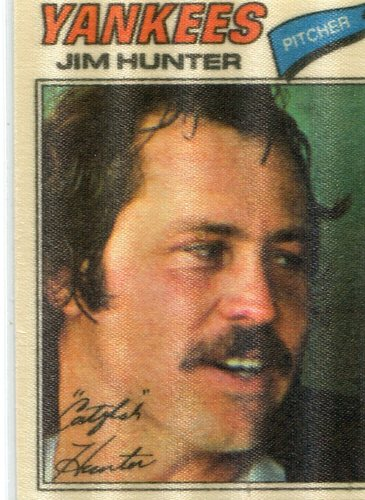 Photo of 1977 Topps Cloth Stickers #21 Jim Hunter