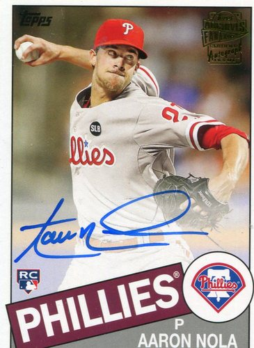 Photo of 2016 Topps Archives Fan Favorites Autographs Aaron Nola