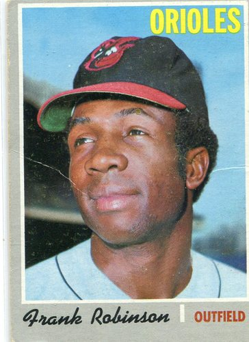 Photo of 1970 Topps #700 Frank Robinson  -- Orioles Hall of Famer