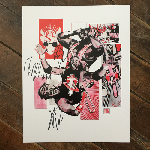 New Day SIGNED 11 x 14 Rob Schamberger Print