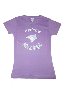 Toronto Blue Jays Youth Fine Jersey Tee by Soft As A Grape