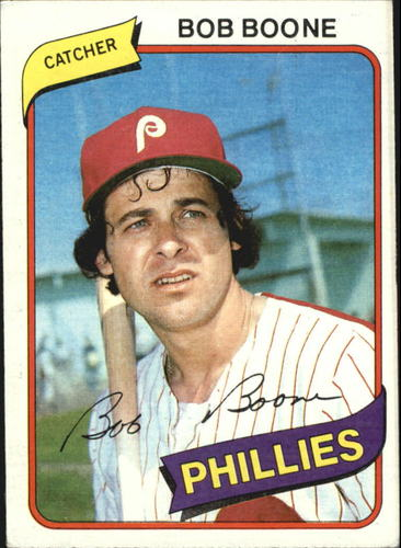 Photo of 1980 Topps #470 Bob Boone