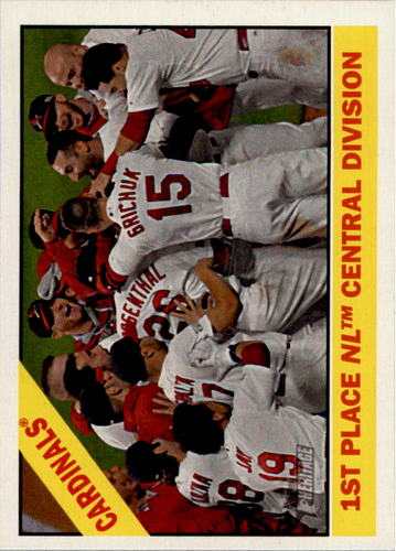 Photo of 2015 Topps Heritage #379 St. Louis Cardinals