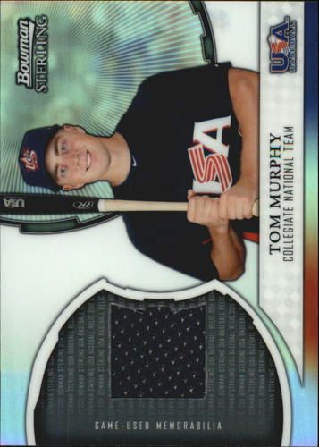 Photo of 2011 Bowman Sterling USA Baseball Relics #TM Tom Murphy