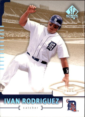 Photo of 2004 SP Authentic 199/99 #78 Ivan Rodriguez