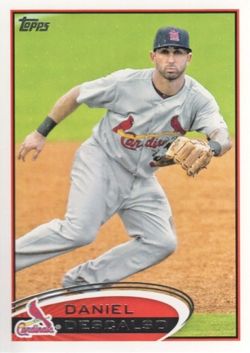 Photo of 2012 Topps #372 Daniel Descalso