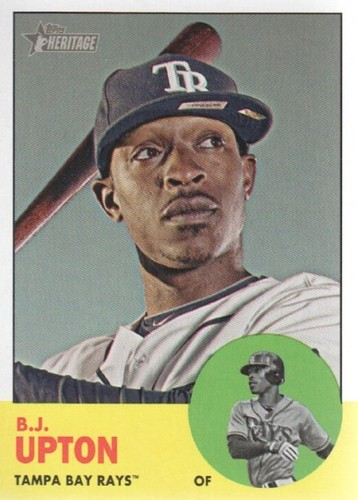 Photo of 2012 Topps Heritage #215A B.J. Upton