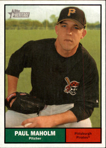 Photo of 2010 Topps Heritage #181 Paul Maholm