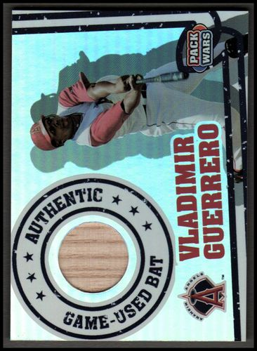 Photo of 2005 Topps Pack Wars Relics #VG Vladimir Guerrero Bat B