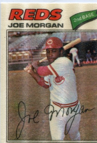 Photo of 1977 Topps Cloth Stickers #31 Joe Morgan