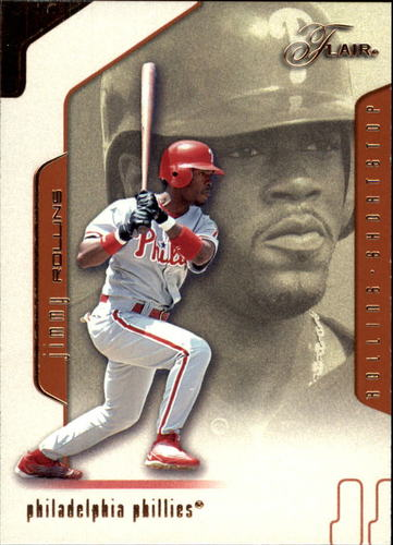 Photo of 2002 Flair #13 Jimmy Rollins
