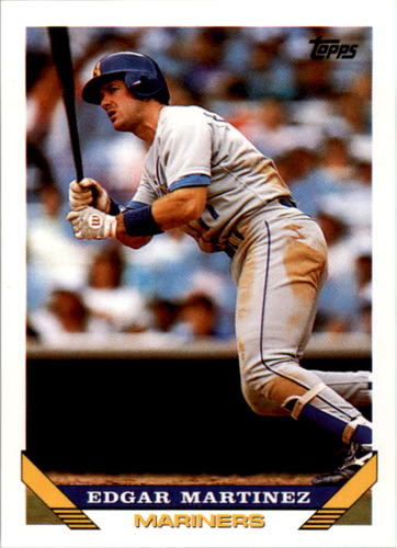 Photo of 1993 Topps #315 Edgar Martinez