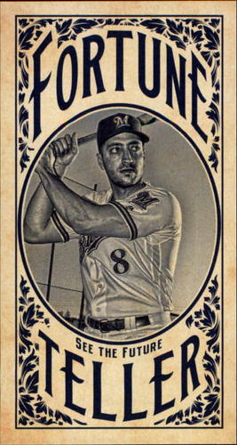 Photo of 2017 Topps Gypsy Queen Fortune Teller Mini #FTRB Ryan Braun