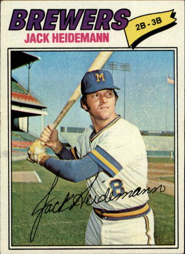 Photo of 1977 Topps #553 Jack Heidemann