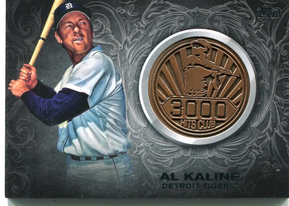 2016 Topps Update 3000 Hits Club Medallions  Al Kaline