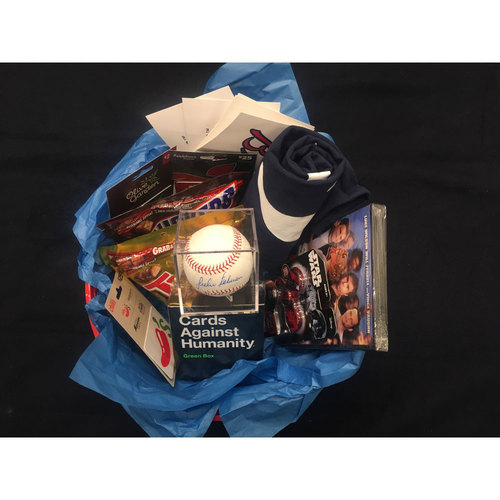 Braves Charity Auction - Braves Wives Favorite Things Basket - Julio Teheran