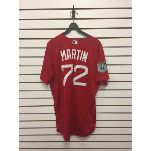 Photo of Kyle Martin Team-Issued 2017 Spring Training Jersey