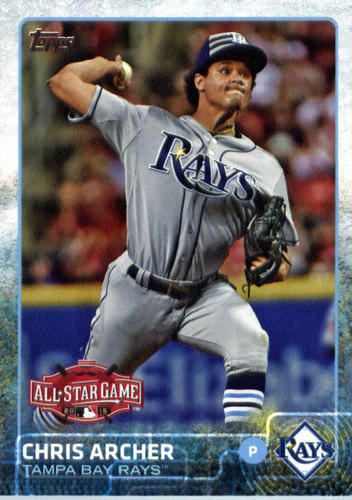 Photo of 2015 Topps Update #US147 Chris Archer
