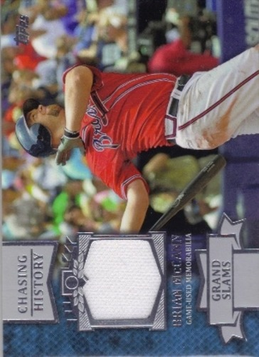 Photo of 2013 Topps Chasing History Relics #BM Brian McCann S2