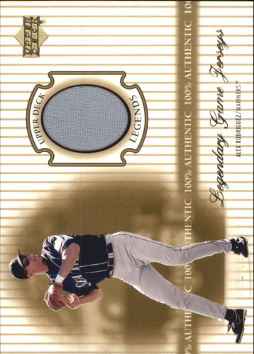Photo of 2000 Upper Deck Legends Legendary Game Jerseys #JAR Alex Rodriguez
